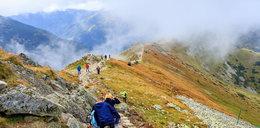 Turysta całą noc błądził po Tatrach