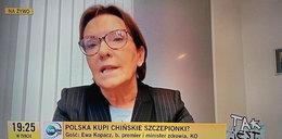 Ewa Kopacz zabrała głos ws. COVID. Czego obawia się jako lekarz?