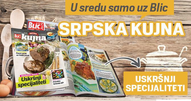 """""""Srpska kujna"""" uz """"Blic"""""""