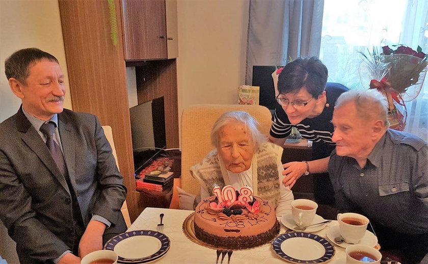 Urodziny 108-latki