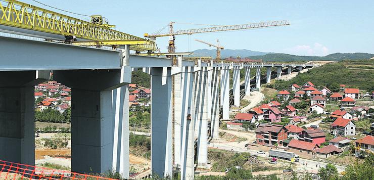 Zorana Mihajlović, Koridor 10 most Vrla