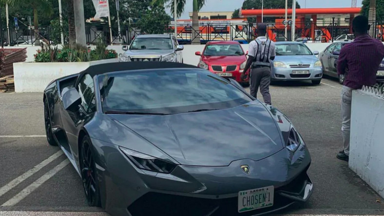 Stolen Lamborghini Huracan Spyder worth $266,325, spotted in East Legon 2