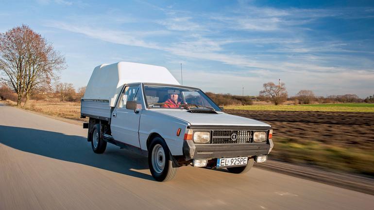 FSO Polonez Truck - rynkowy sukces auta z Polski