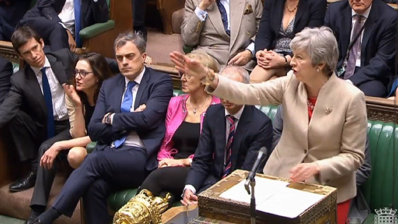 Theresa May w Izbie Gmin