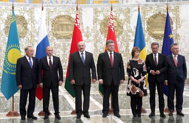Szczyt w Mińsku. Fot. EPA/MAKSIM GUCHEK / POOL
