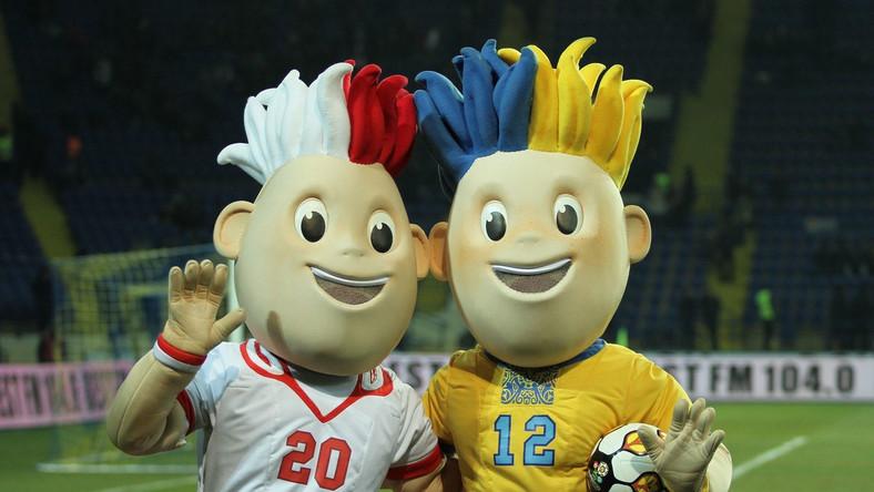 Maskotki mistrzostw Euro 2012