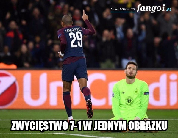 Memy po meczu Paris Saint-Germain - Celtic Glasgow