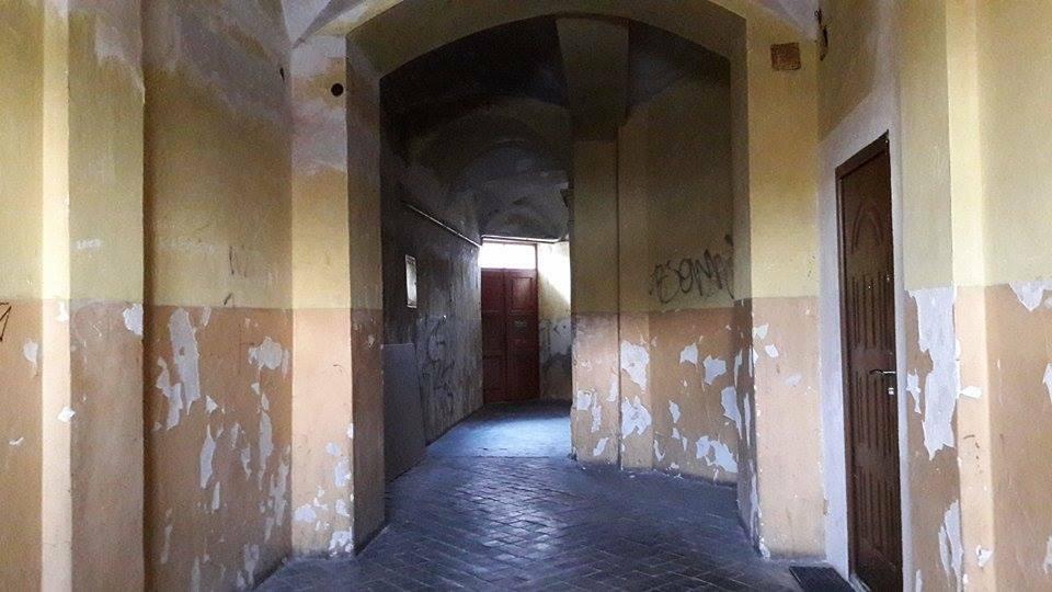 Wnętrze jednej z kamienic na Kazimierzu