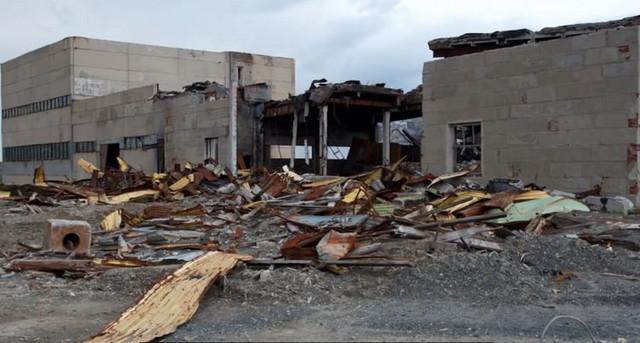 Nekada veliki istraživački centar, danas ruinirana zgrada