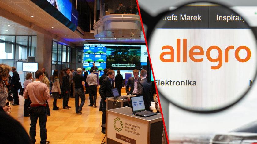 Wyniki finansowe Allegro są dobre, ale inwestorzy boją się Amazon.pl?