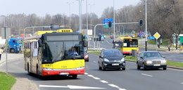 Pierwsze w Łodzi buspasy