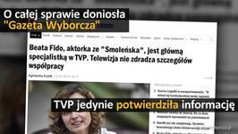 Beata Fido dostała pracę w biurze zarządu TVP