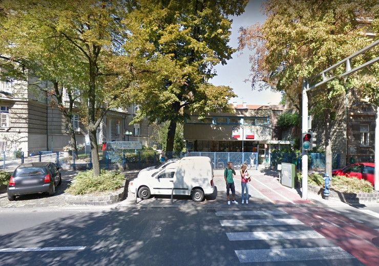 Klinika Zagreb, sc google maps