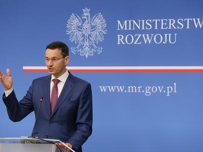 Mateusz Morawiecki chce, by cała Polska była specjalną strefą ekonomiczną