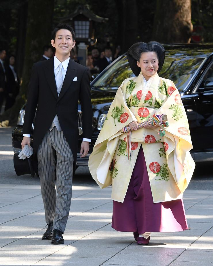 Princeza Ajako venčanje