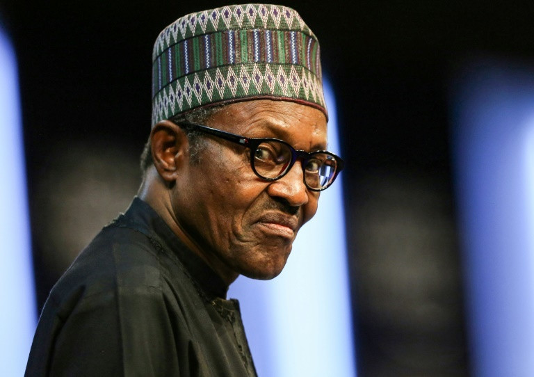 According to the result announced by INEC, 76-year-old Buhari won re-election for a second term [AFP]