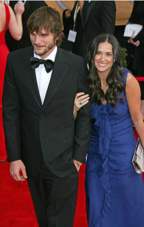 Demi Moore i Ashton Ashton Kutcher na gali rozdania nagród Screen Actors Guild Awards