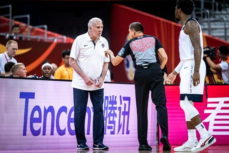 Greg Popovič, Košarkaška reprezentacija SAD