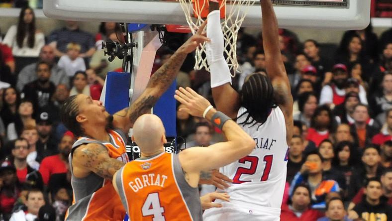 Liga NBA: Dobry mecz Gortata. Czwarta z rzędu wygrana Phoenix Suns