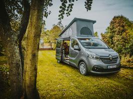 Jesiennie w Renault Trafic Wavecamper - wypoczynek czy survival?