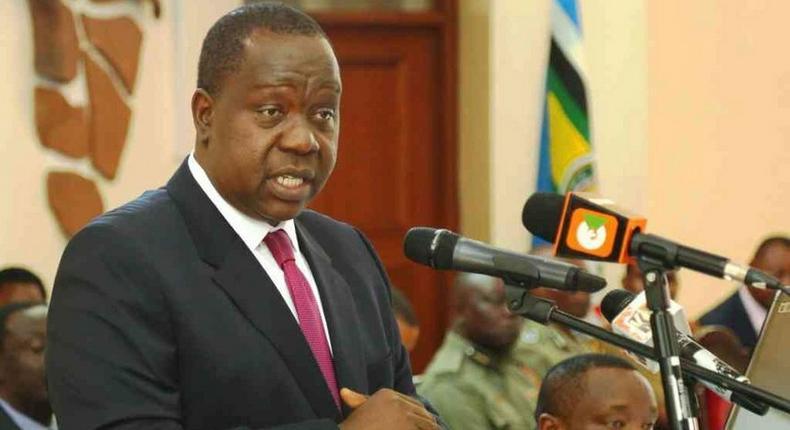 Interior Cabinet Secretary Dr Fred Matiang'i