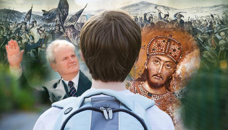 udzbenici kombo foto EPA Srdjan Suki, Wikipedia, Shutterstock