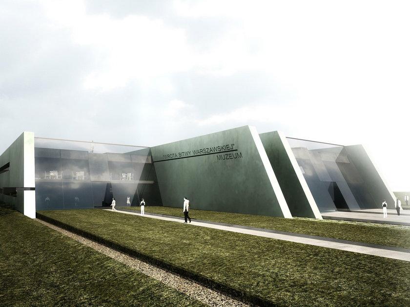 Projekt Muzeum Bitwy Warszawskiej 1920