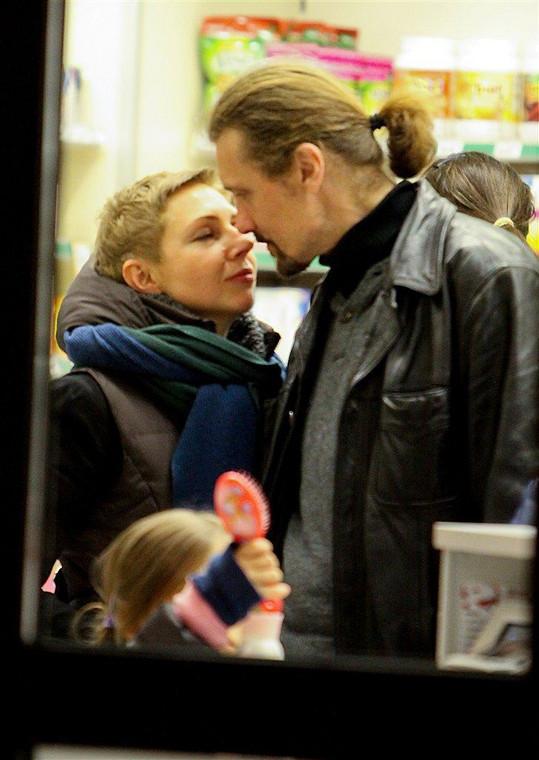 Gienek Loska z żoną