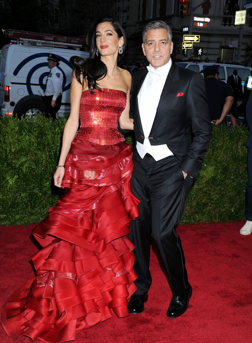 George Clooney z żoną Amal