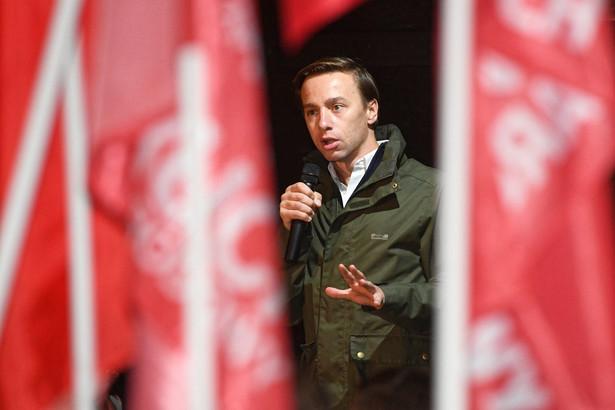 Wiceprezes Ruchu Narodowego Krzysztof Bosak