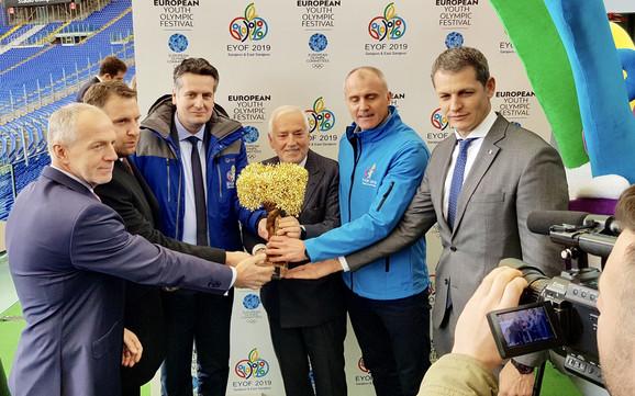 Jozef Liba, Abdulah Skaka, Nenad Vuković, Rafaele Panjoci, Senahudin Godinjak i Đorđe Višacki