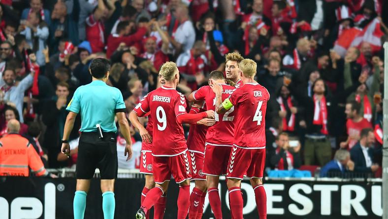 Piłkarze reprezentacji Danii
