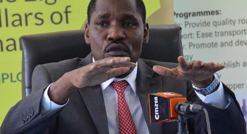 Trade Cabinet Secretary Peter Munya