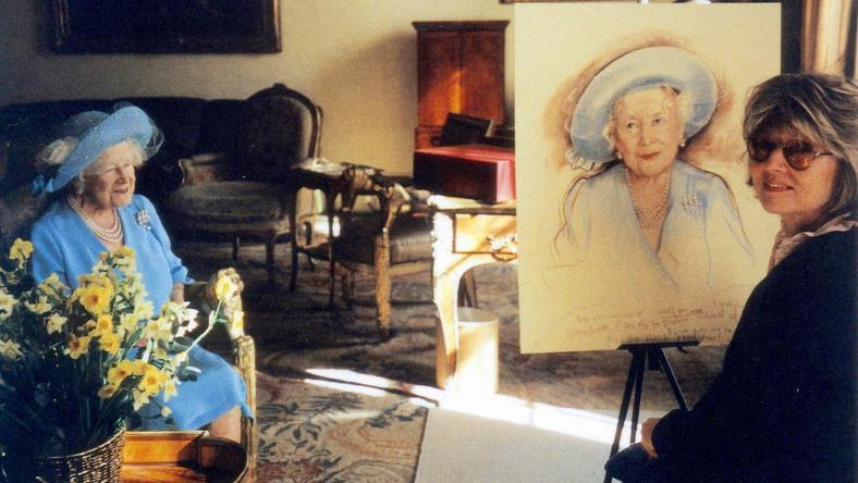 Królowa matka i Barbara Kaczmarowska Hamilton
