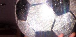 Gwiazdor kupił sobie diamentową piłkę! Wydał majątek!