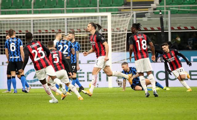 Detalj sa utakmice Inter - Milan