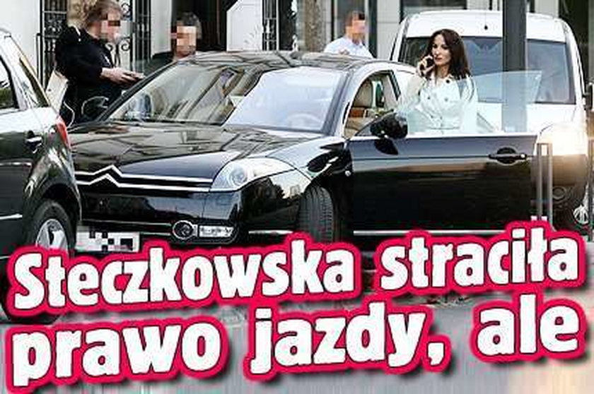 Steczkowska straciła prawo jazdy, ale...