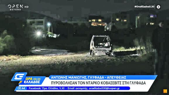 Snimak napada, Darko Kovačević
