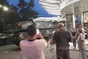 BUK NAPRAVIO LOM Ruski raketni sistem ZAKUCAO se u tržni centar u Kijevu (VIDEO)
