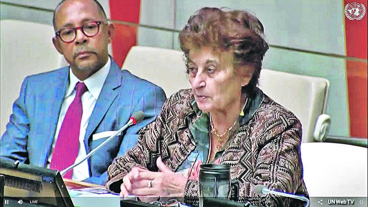 Njujork_Ujedinjene nacije_Miroslava Markovic_RAS foto UN WebTV4
