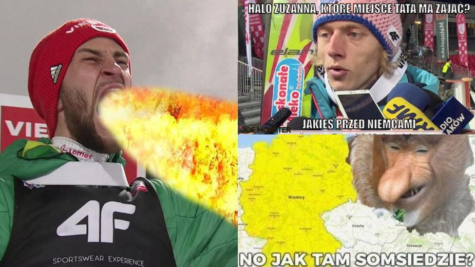 Polacy znów na podium. Memy po konkursie drużynowym PŚ w Lahti