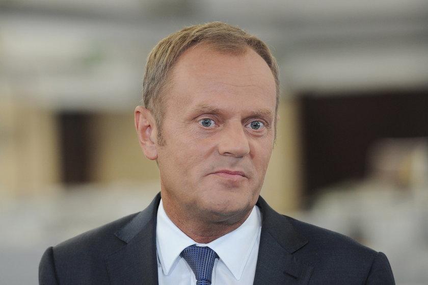 """""""Tusk dzi... Putina"""". Sprawa umorzona"""