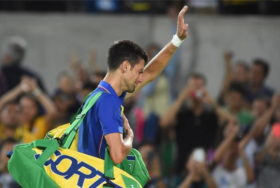 Novak Đoković, Rio 2016.