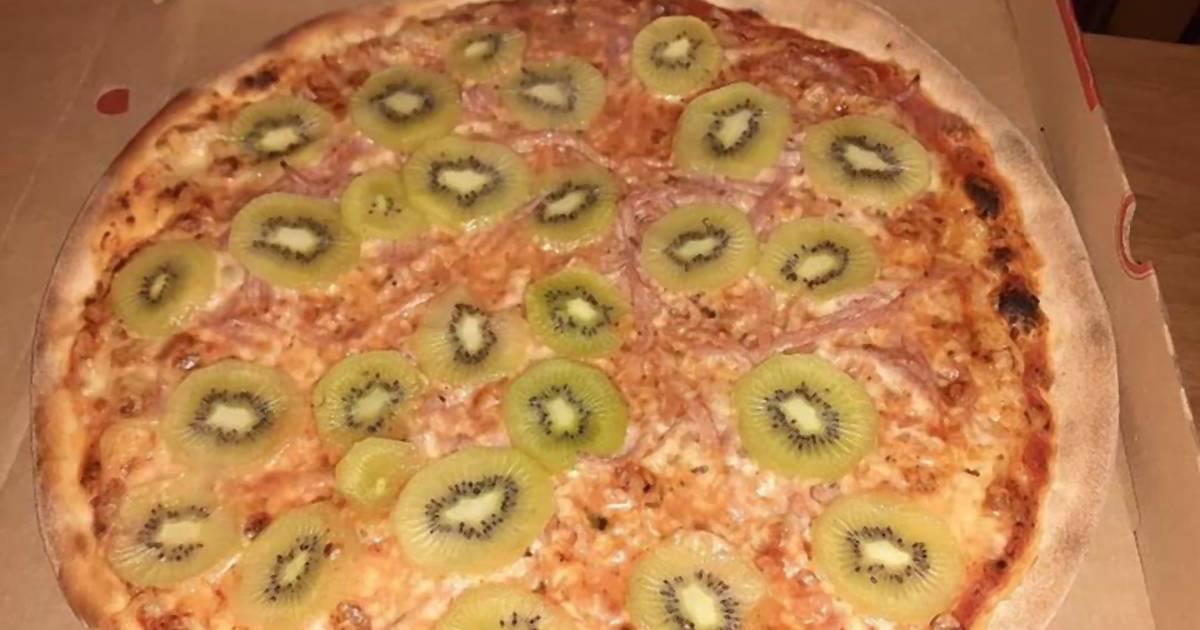 Excuse me!? In Dänemark gibt es jetzt Pizza mit Kiwi