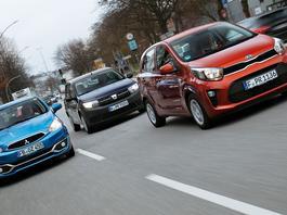 Dacia Sandero kontra Mitsubishi Space Star i Kia Picanto - porównujemy najtańsze nowe auta na rynku