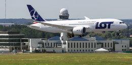 Nowy samolot LOT wylądował z odznaką Cichociemnych!