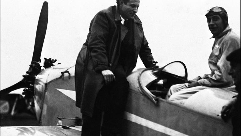 French aviator Jean Mermoz was one of the pioneers of Aeropostale