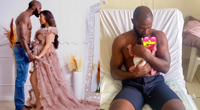 Celebrity Baby: Rugby Star Dennis Ombachi & Wife welcome baby number 2 (Video)