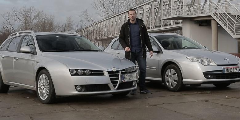 Używane bez ryzyka - Alfa Romeo 159 kontra Renault Laguna