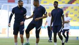 Karim Benzema, Kylian Mbappe and France are set to begin their bid for Euro glory against Germany in Munich Creator: FRANCK FIFE